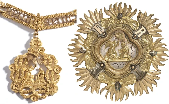necklace of the Supreme Order of the Most Holy Annunciation