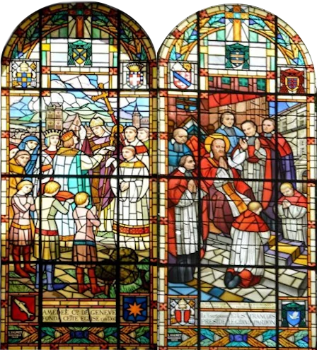 stained glass windows of notre-dame-de-iesse