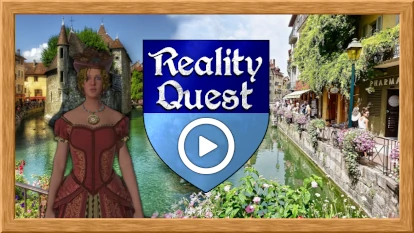 reality quest - outdoor escape game in Annecy